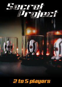 Secret Project Official Poster Torrenigma Escape Room